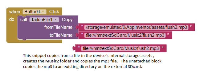 App Inventor Extensions: File | Pura Vida Apps