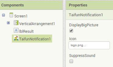 App Inventor Extensions: Notification | Pura Vida Apps