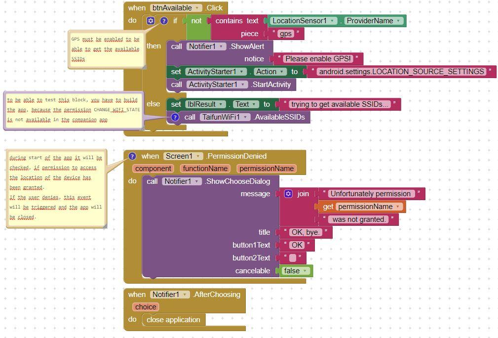 App Inventor Extensions: WiFi | Pura Vida Apps