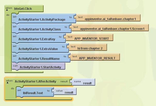 App Inventor Classic Code Snippets Pura Vida Apps