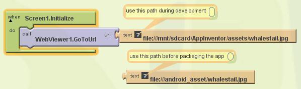 App Inventor Classic Code Snippets | Pura Vida Apps