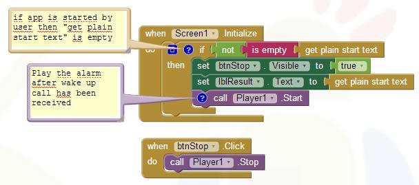App Inventor Tutorials and Examples: Alarmmanager   Pura Vida Apps