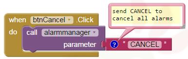 App Inventor Tutorials and Examples: Alarmmanager   Pura