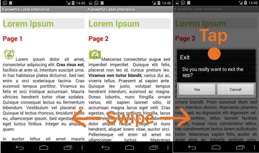 App Inventor Tutorials and Examples: HTML Label | Pura Vida Apps