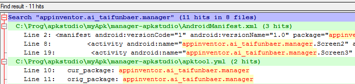 App Inventor Tutorials and Examples: Package name | Pura