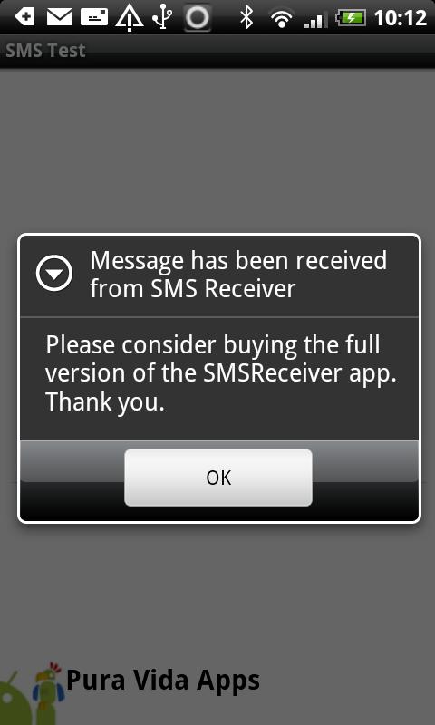 App Inventor Tutorials and Examples: SMS Receiver | Pura